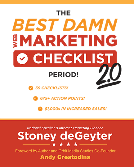 image of front cover of The Best Damn Marketing Checklist Period 2.0 Book