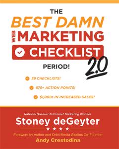 The Best Damn Marketing Checklist Period 2.0 Book