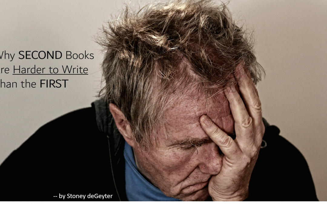 Why Second Books Are Harder to Write Than the First