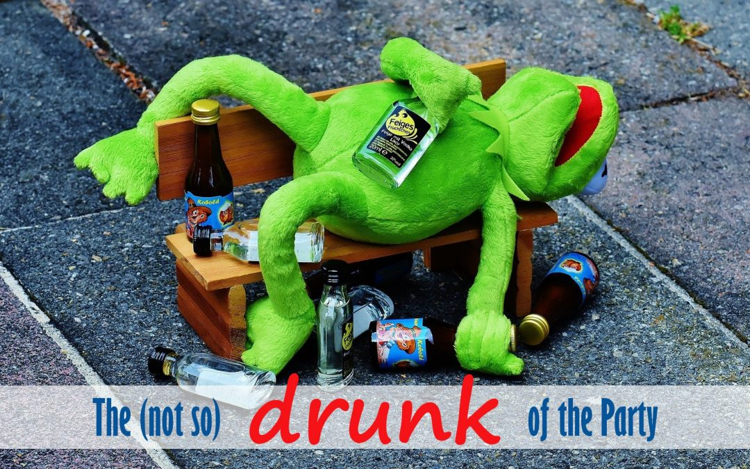 The (Not So) Drunk of the Party — A Story of My Life